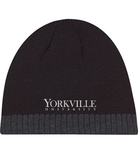 YU BLACK & CHARCOAL TOQUE