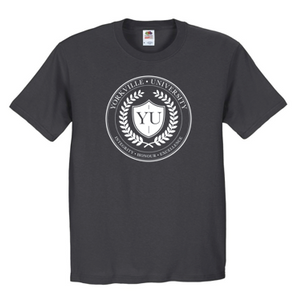 YU CHARCOAL ATC  COTTON T-SHIRT