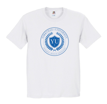 YU WHITE ATC  COTTON T-SHIRT