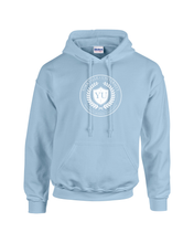 Load image into Gallery viewer, YU LIGHT BLUE FLEECE P/O HOODIE