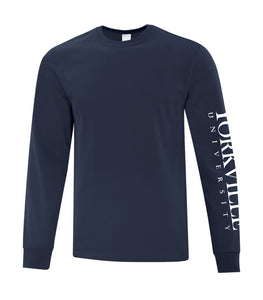 YU DARK NAVY ATC™ EVERYDAY COTTON LONG SLEEVE TEE