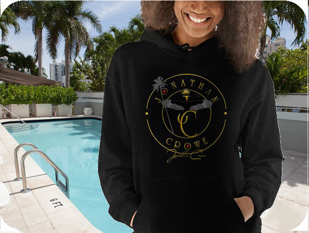 JC Logo Pullover Hoodie