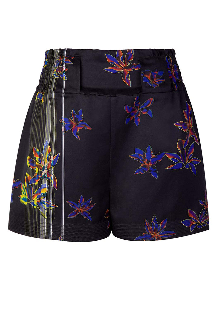 Glitch Flower Shorts