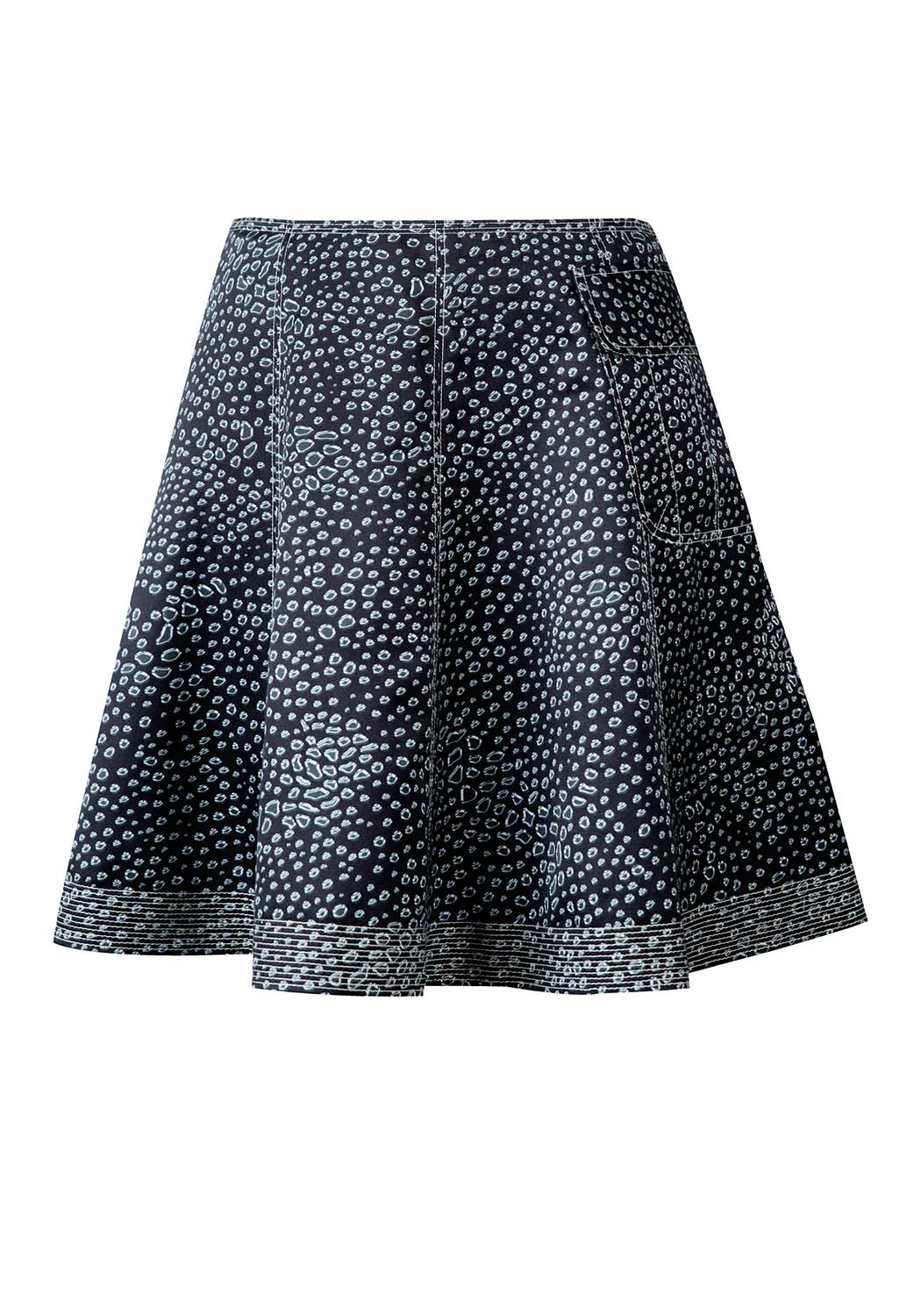 Drops Mini Skirt