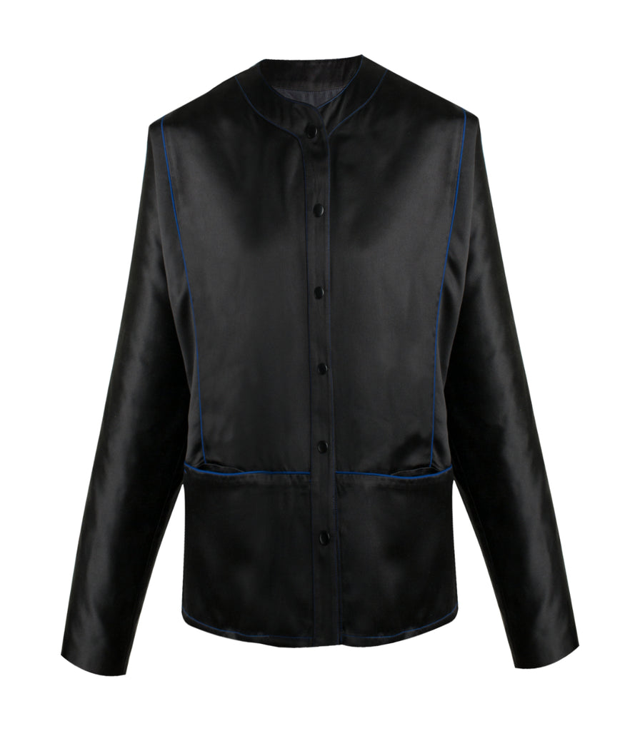 Black Silk Jacket