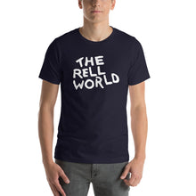 The Rell World Classic White Letter Tee