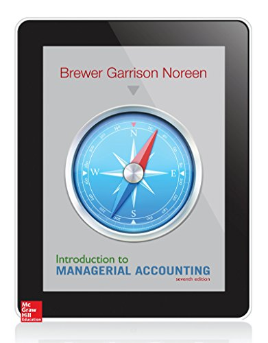 Introduction to Managerial Accounting (Irwin Accounting)