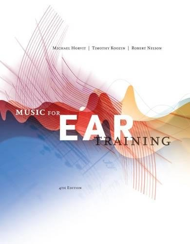 Music for Ear Training (with Premium Website Printed Access Card)