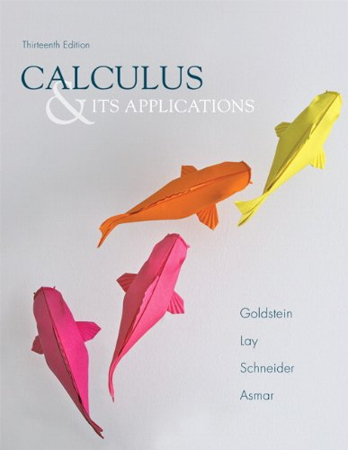 Calculus & Its Applications (13th Edition)