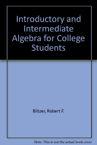 Introductory Intermediate Algebra For College Students Plus