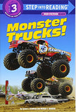 Monster Trucks! (Step into Reading)