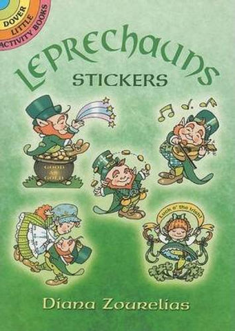 Leprechauns Stickers (Dover Little Activity Books Stickers)