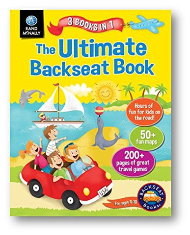 Rand McNally Ultimate Backseat Book