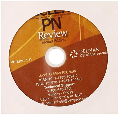 CD for Miller's NCLEX-PN Review, 2nd