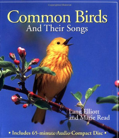 Common Birds and Their Songs (Book Only)