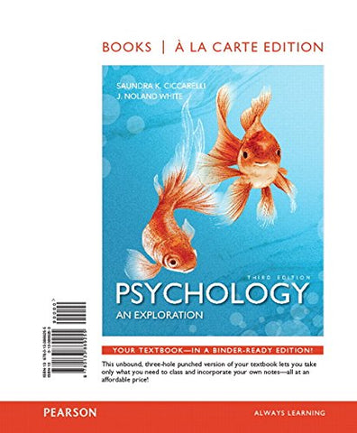 Psychology: Exploration Books a la Carte and REVEL -- Access Card Package (3rd Edition)