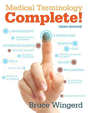 Medical Terminology Complete with MyMedicalTerminologyLab plus Pearson eText - Access Card Package (3rd Edition)