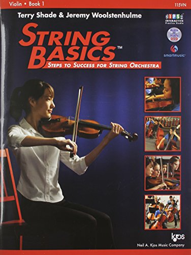 115VN - String Basics: Steps to Success for String Orchestra Violin Book 1