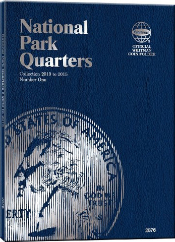 Whitman Nat Park Blue Folder Vol 1 2010-2015 (Official Whitman Coin Folder)