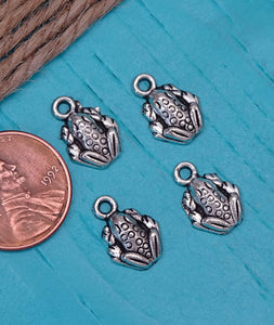 12 pc Frog charm, frog charms, frog, i love frogs, Alloy charm ,very high quality.Perfect for jewery making and other DIY projects