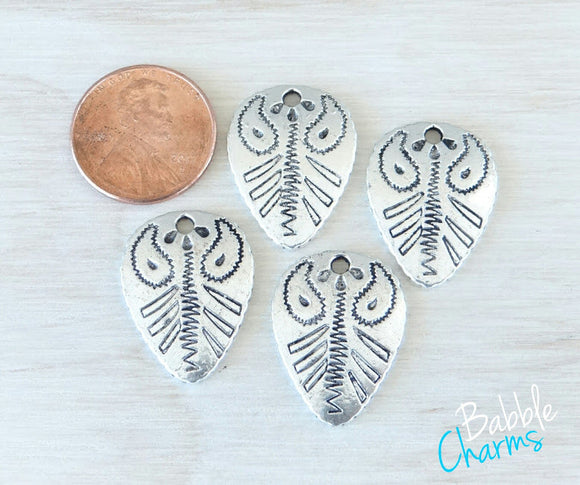 12 pc Fossil Charm, Cowgirl fossil Charm, Charms, wholesale charm