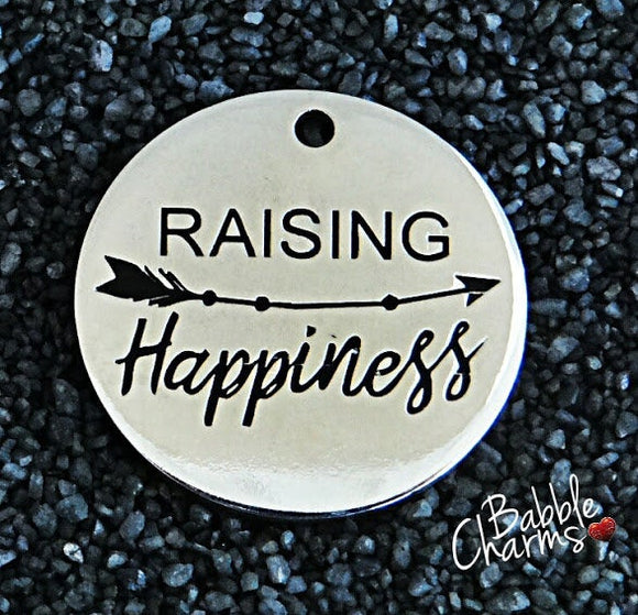 Raising Happiness, Raising happinesscharm, happiness, Alloy charm 20mm very high quality.Perfect for jewery making & other DIY projects #130
