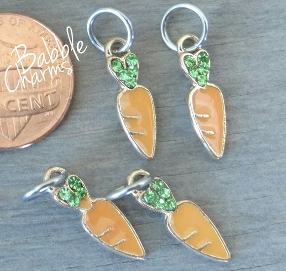 12 pc Carrot charm, cute carrot charm, Alloy charm, very high quality.Perfect for jewery making and other DIY projects