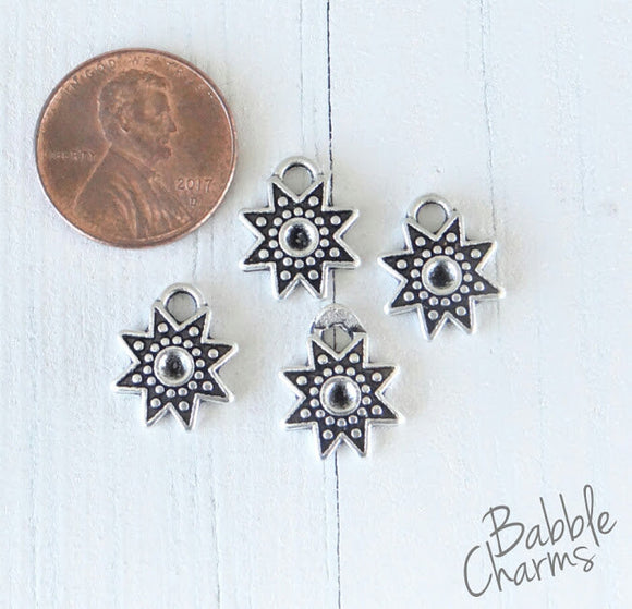 12 pc Sun, sun charm, sun charms. Alloy charm ,very high quality.Perfect for jewery making and other DIY projects
