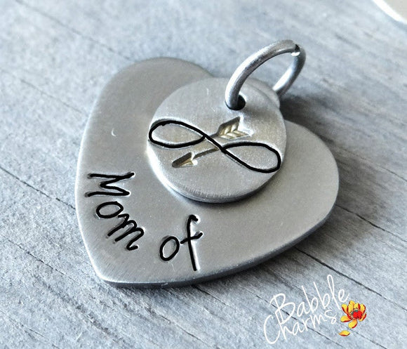 Mom of charm, Mom charm, steel charm 20mm very high quality..Perfect for jewery making and other DIY projects
