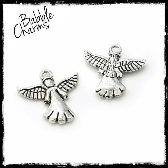 Angel, Angel charm, alloy charm, charm, charms