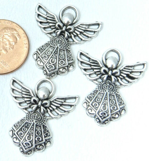 12 PC Angel charm, Angel, angel charms. Alloy charm, very high quality.Perfect for jewery making and other DIY projects