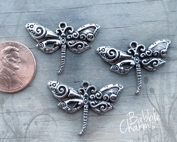 12 pc Dragonfly charm, dragonfly, charm, bug charm, dragonflies, Alloy charm ,high quality.Perfect for jewery making and other DIY projects