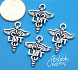 12 pc LMT charm, LMT, Licensed Massage Therapist, Massage therapy, LMT Charms, wholesale charm, alloy charm