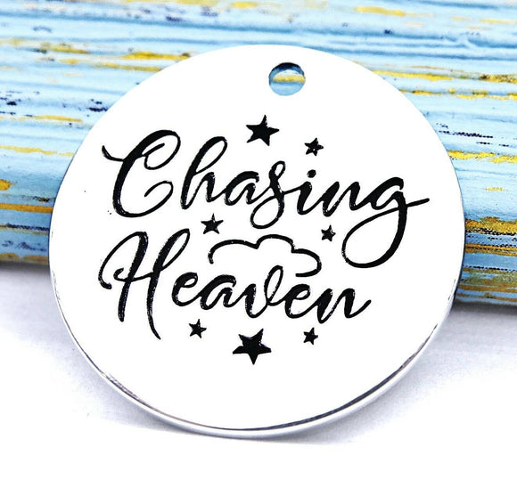 Chasing heaven, heaven charm, loss charm, memorial charm, charm, Alloy charm 20mm very high quality..Perfect for DIY projects