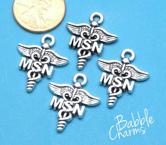 12 pc MSN charm, nursing, MSN, Charms, wholesale charm, alloy charm