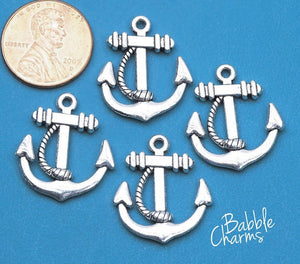 12 pc Anchor charm, anchor charm, ship charms. Alloy charm ,very high quality.Perfect for jewery making and other DIY projects