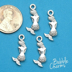 12 pc Mermaid, mermaid charm, mermaid, love the sea charms. Alloy charm ,very high quality.Perfect for jewery making and other DIY projects
