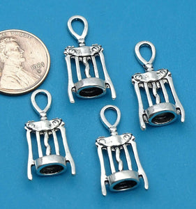 12 pc Bottle opener, bottle opener charm, glass, cup. Alloy charm very high quality.Perfect for jewery making and other DIY projects