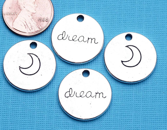 12 pc Moon, moon charm. Alloy charm ,very high quality.Perfect for jewery making and other DIY projects
