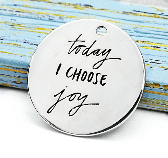 I choose joy, joy chaym, joy boho charm, Alloy charm 20mm very high quality..Perfect for jewery making and other DIY projects