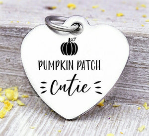 Pumpkin patch cutie, pumpkin patch, pumpkin, pumpkin charms, Steel charm 20mm very high quality..Perfect for DIY projects