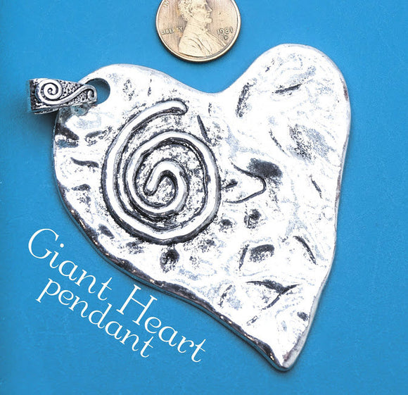 Heart Pendant, heart, charm, heart charm, pendant, Alloy charm ,high quality.Perfect for jewery making and other DIY projects