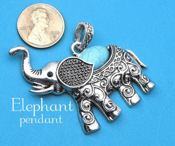 Elephant Pendant, Elephant , charm, Elephant charm, pendant, Alloy charm ,high quality.Perfect for jewery making and other DIY projects