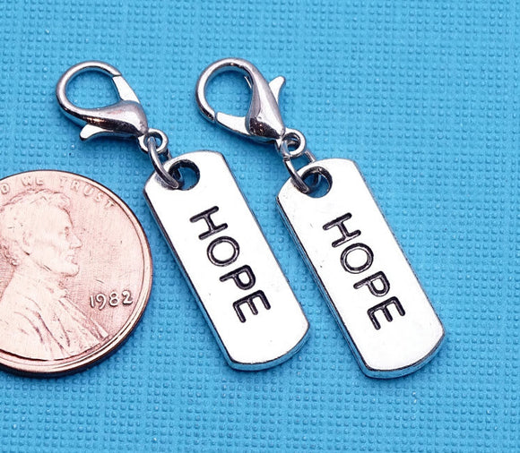 12 pc Hope charm, Hope, Hope charms, Charms, wholesale charm, alloy charm