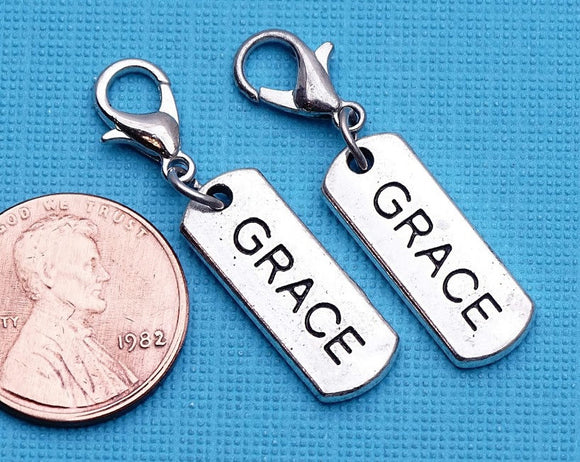 12 pc Grace charm, grace, grace charms, Charms, wholesale charm, alloy charm