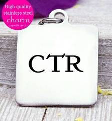 CTR, choose the right, child of god, god charm, steel charm 20mm very high quality..Perfect for jewery making and other DIY projects