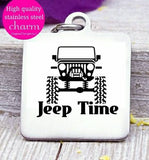 Jeep Time, Jeep, live to jeep, charm, Steel charm 20mm very high quality..Perfect for DIY projects