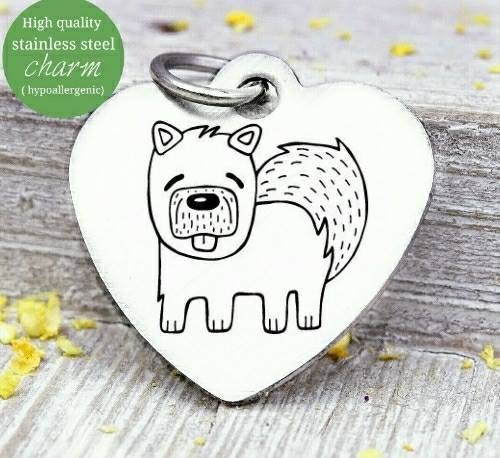 Dog, dog charm, Dog mom, fur mom, fur mama, dog mom charm, Steel charm 20mm very high quality..Perfect for DIY projects
