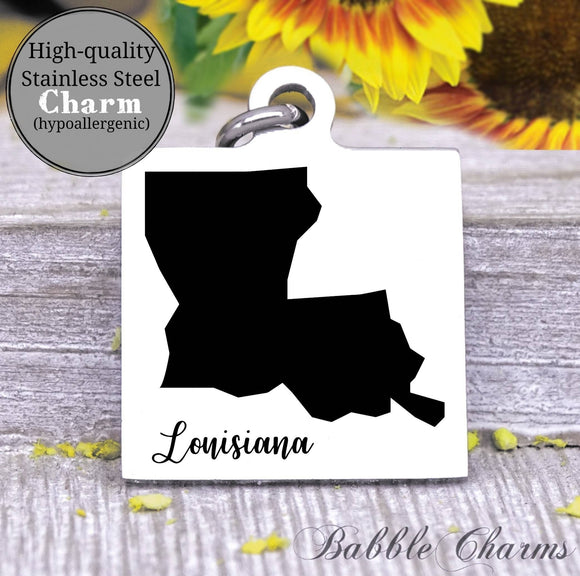 Louisiana, Louisiana charm, high quality..Perfect for DIY projects