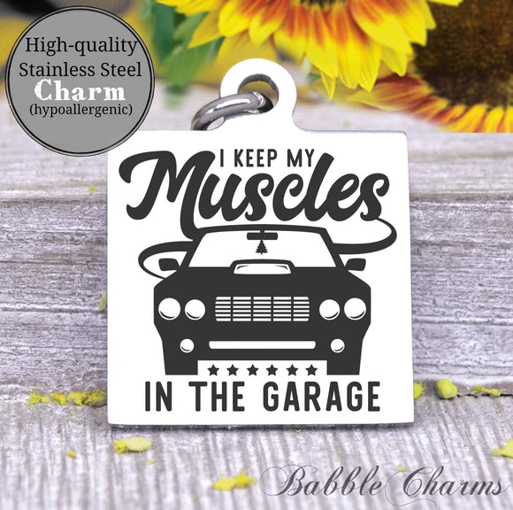 Muscle car charm, muscle, car charm, Steel charm 20mm very high quality..Perfect for DIY projects